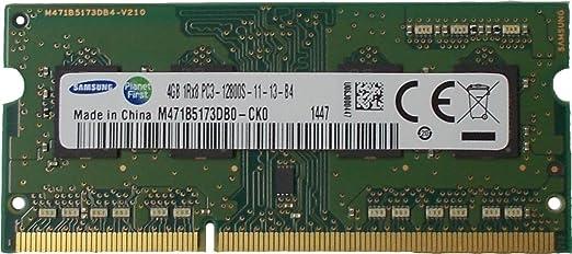76 opinioni per Samsung ram memory 4GB (1 x 4GB) DDR3 PC3-12800,1600MHz, 204 PIN SODIMM for
