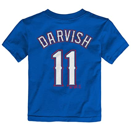 8cdfc4ed07e Image Unavailable. Image not available for. Color  Outerstuff Yu Darvish  MLB Majestic Texas Rangers Player Jersey T-Shirt ...