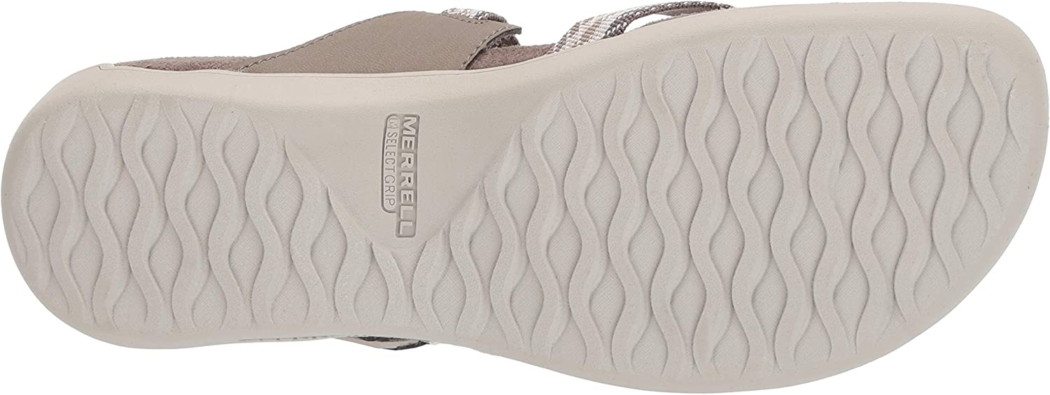 Merrell District Mendi Thong, Chanclas para Mujer Marrón Brindle Brindle