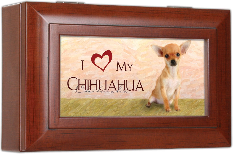 開店記念セール! Love Love My Chihuahua Cottage – Gardenリッチ木目調仕上げ小柄ジュエリー音楽ボックス – Plays Song Wonderful Song World B00KMDIR8C, Nakama28:85e1e18f --- arcego.dominiotemporario.com