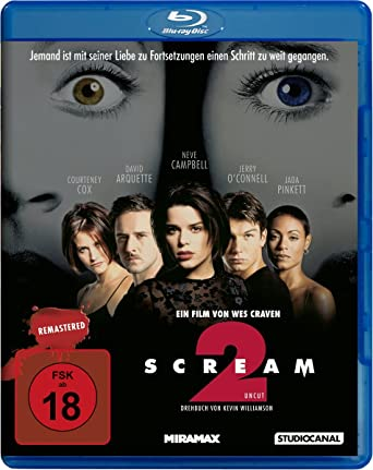 meilleur pas cher abb35 1480a Scream 2 - Remastered: Amazon.co.uk: DVD & Blu-ray