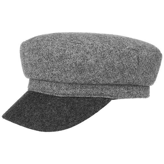 e0f04595637494 Lierys Lorenzo Uni Baker Boy Hat by Women | Made in Italy Wool Cap Flat  Sailor´s with Peak, Lining Autumn-Winter: Amazon.co.uk: Clothing