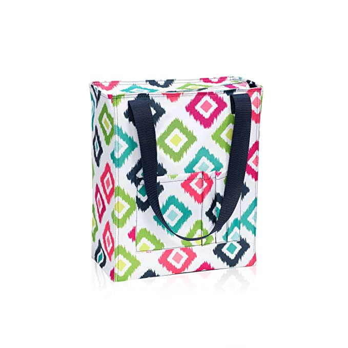 390f509601d3 Thirty One Tall Organizing Tote in Candy Corners - 8275 - No Monogram