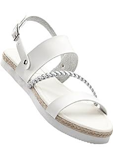 Damen Sandale 242983 in Weiß 37