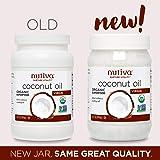 Nutiva 未經精制冷壓初榨椰子油,來自新鮮、可持續養殖的椰子,每罐15盎司(444ml),2罐裝