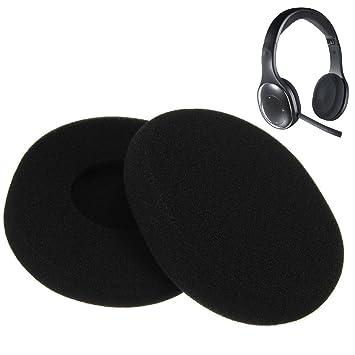 Vida VC un par de almohadillas de espuma de repuesto almohadillas almohadillas para Logitech H800 auriculares inalámbricos auriculares: Amazon.es: ...