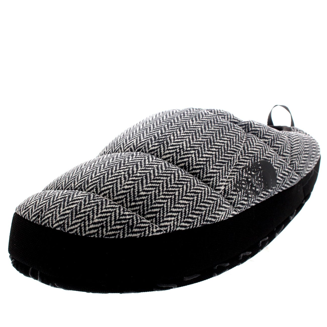 The North Face Mens NSE Tent Mule III Thermal Warm Winter Mule Slippers - Black/White - 8-9.5 by The North Face (Image #1)