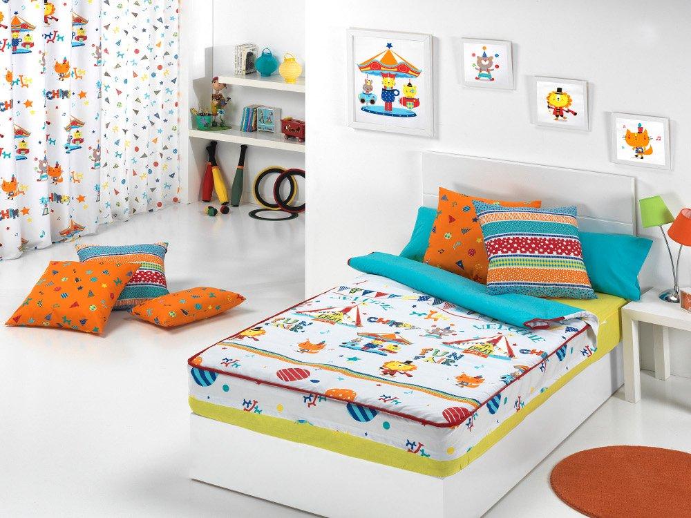 Textilonline - Saco Nordico Con Relleno Circus (Cama 105 cm, Color Único): Amazon.es: Hogar