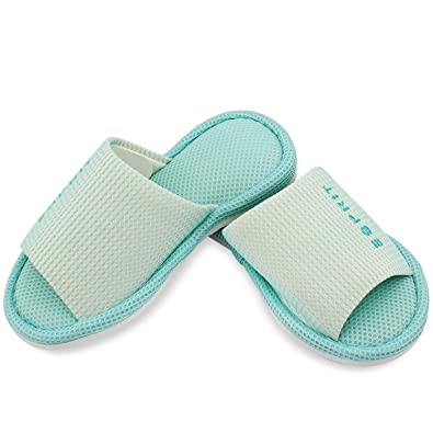 85e91848d5010 Esprit Unisex Bath/House, Ultra Lightweight Indoor Slippers with Rubber  Sole, Washable (Free Size)