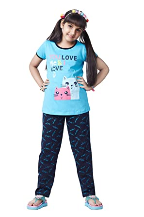311258781 Soft Touche Girls Night Suits with Pajama