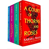 A Court of Thorns and Roses Series Sarah J. Maas 4 Books Collection Set (A Court of Thorns and Roses, A Court of Mist and Fur