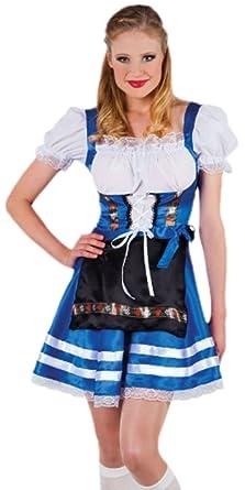 erdbeerloft - Mujer Traje típico de Oktoberfest tirolesa ...
