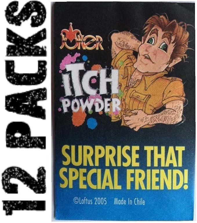 Kid Itching Powder Packages Prank Joke Trick Gag Joke Trick Z7E4 Magic PACK H5P2