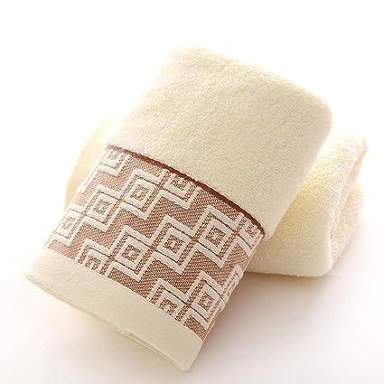 Toallas de baño de toallas de casa cocina de lavado toalla toalla de mano rosa amarillo