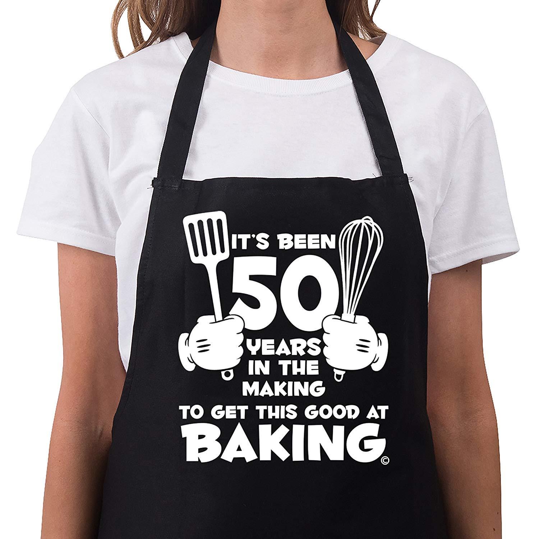 XG Womens 50th Birthday Gift Apron It/'s Been 50 Years 1969 Aprons 50th Birthday Gifts