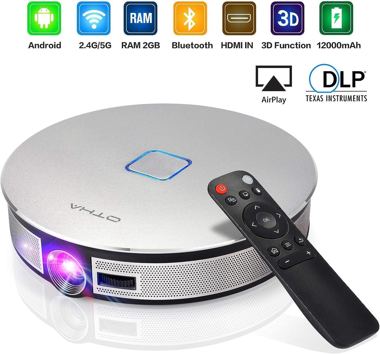 OTHA Mini Proyector Portátil 3D-Videoproyector 3500 Lúmenes Pico ...