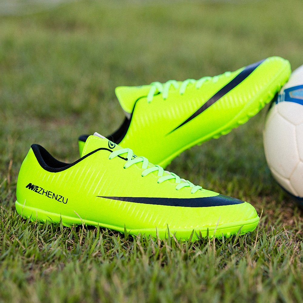 Tiebao Youth Kids Artificial-Turf TF Soccer Shoes Indoor Football Training Little Kid//Big Kid