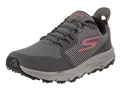 Skechers Women' Go Trail 2 Running Shoe Black 5 B(M) US New