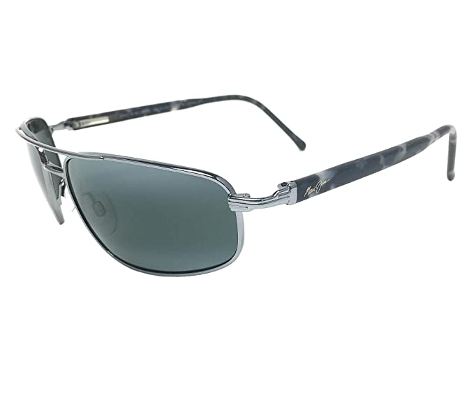 d15b5441f1a Image Unavailable. Image not available for. Colour  New Maui Jim Kahuna 162- 02 Gunmetal Neutral Grey Polarized Sunglasses