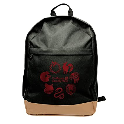Amazon.com: Close Up The Seven Deadly Sins Backpack Emblems: Kitchen & Dining