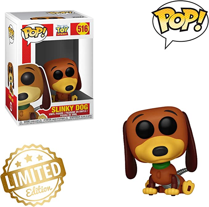 Multicolore Funko 37010 POP Toy Story-Slinky Dog Collectible Figure