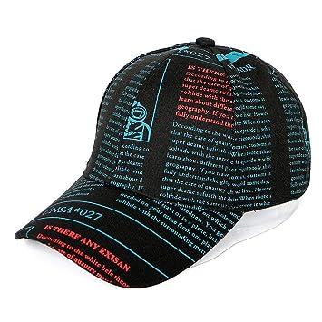 WNSS9 Tapas creativas pintada sombrero gorra de béisbol de verano ...