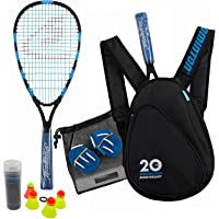 Speedminton Jubilee-set (S800), Badminton/Crossminton Allround Set, Inclusief 4 Speeder®, Speeltuin, Tas