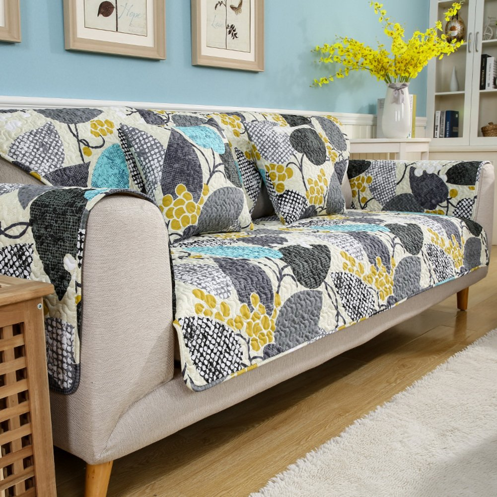 Sectional sofa covers,Furniture slipcovers Pet couch cover Furniture covers Armchair covers 3 cushion sofa slipcover-A 110x110cm(43x43inch) by DIGOWPGJRHA