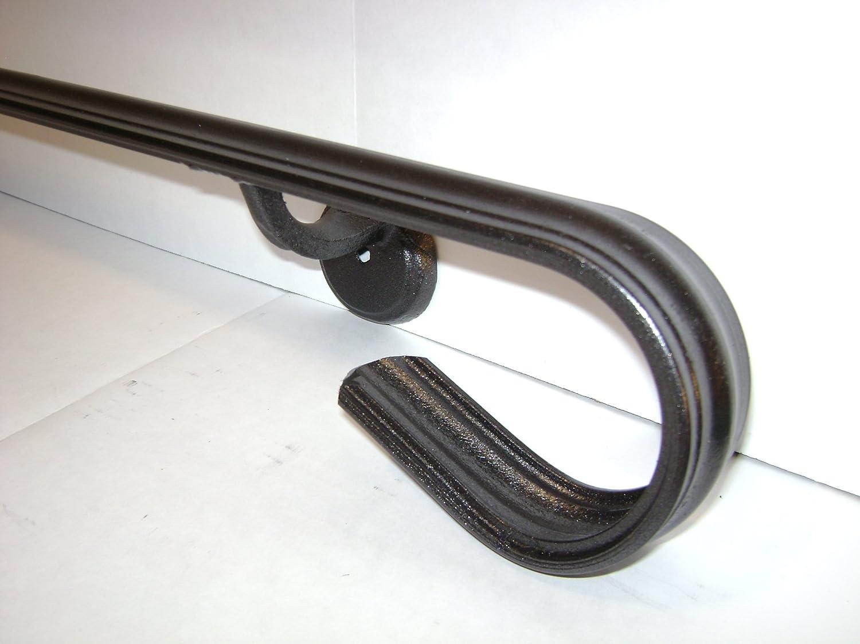 Kenosha Iron 6 FT Wrought Iron Handrail Hand Rail Railing