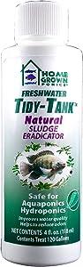 HOME GROWN PONICS #96038 Tidy Tank Natural Sludge Eradicator, 4-Ounce, turbid (MODEL-96038)