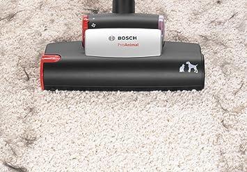 Bosch Hogar ProAnimal Aspiradora sin Bolsa 3 L, 950 W, 74 dB, 575 W, 3 Liters, Decibelios, Rojo: Amazon.es: Hogar