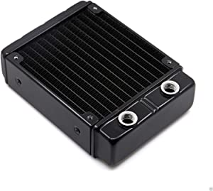 120mm Aluminum Radiator Ultra Thick 30mm G1/4 Thread For PC Water Liquid Cooling