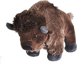Wild Republic Bison Plush, Stuffed Animal, Plush Toy, Gifts for Kids, Cuddlekins 8 Inches