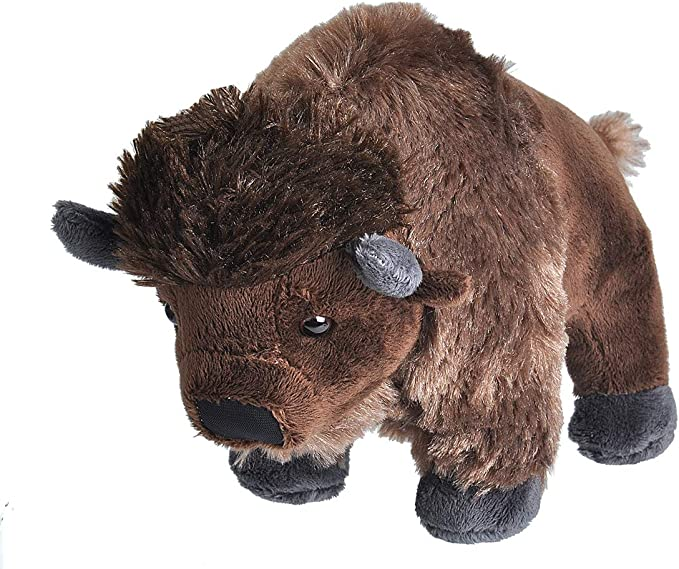 Wild Republic- CK Mini Bison de Peluche, 20 cm (10856): Amazon.es: Juguetes y juegos