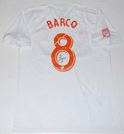 new product 220fb 58f51 Autographed Ezequiel Barco Jersey - MLS  THE KING PEACH KIT  W COA -  Autographed