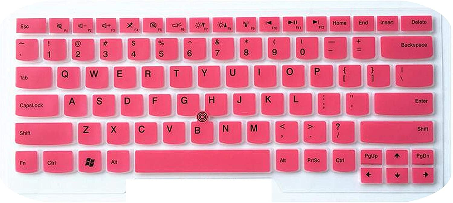 for Lenovo Thinkpad Oga L380 T480 T480S T470 T470S Yoga 2Rd//3Rd 2018//2017 Thinkpad X1 Carbon Laptop Keyboard Cover Protector-Pink
