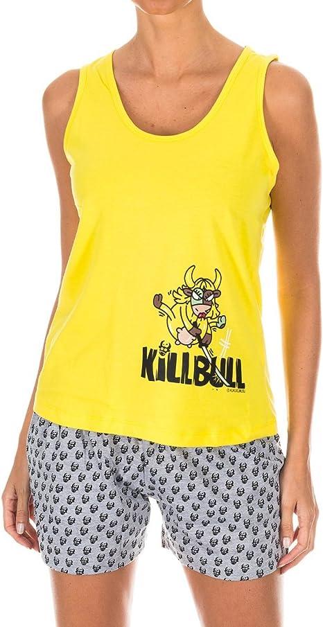 Kukuxumusu Pijama Sra. Tirantes: Amazon.es: Ropa y ...