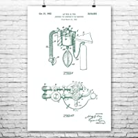 Anesthetic Gas Absorber Poster Print, Waiting Room Decor, Surgeon Gift, Medical...