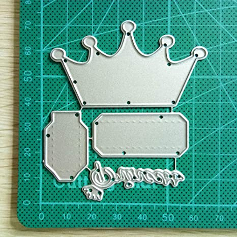 Crown Metal Cutting Dies Stencil for Scrapbooking Card Embossing Album Craft
