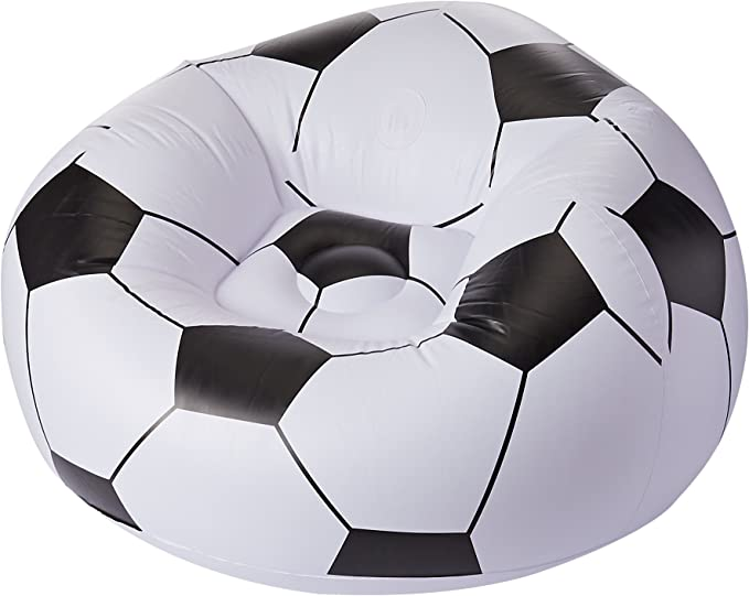 Bestway Puff Balon De Futbol: Amazon.es: Hogar