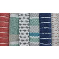 Niyansh Traders 450 GSM Cotton Face Towel Set of 6 Pieces (Multicolour)