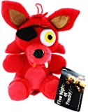 Five Nights at Freddy's Foxy Fox 10 inches Plush Doll