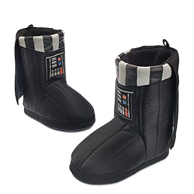 Star Wars Kids Darth Vader Deluxe Slippers 11/12 Youth