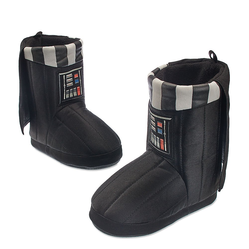 Star Wars Kids Darth Vader Deluxe Slippers 13/1 Youth