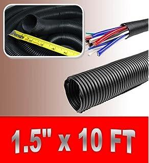 Wire Loom Black 20\' Feet 1\