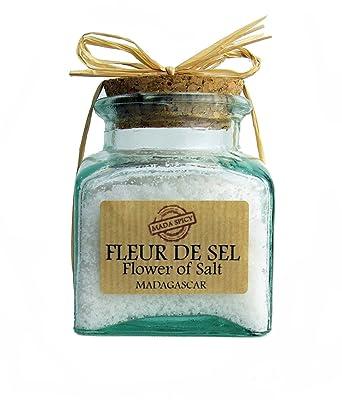 Madagascar Sea Salt Flower Fleur De Sel 200g Craft Glass Amazon