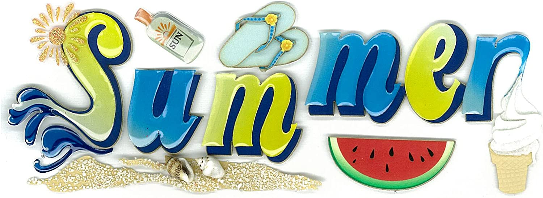 EK Success Jolees Boutique Dimensional Stickers Summer