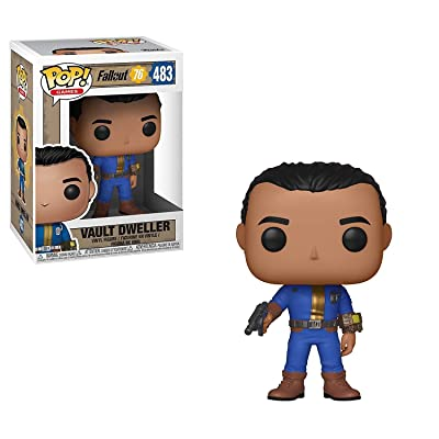 Funko Pop Games: Fallout 76 - Vault Dweller (Male): Toys & Games