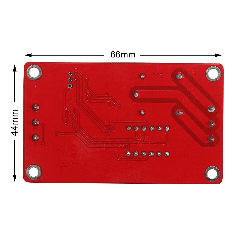 DROK® 30 A Portable Power Switch 12 V DC Corriente Eléctrica Amp Tabla de relés Módulo de control alta corriente para calentador de Cooler Refit Control de ...