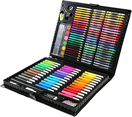 Aibecy 150pcs Conjunto de Dibujo de Arte Pintura para Niños ...